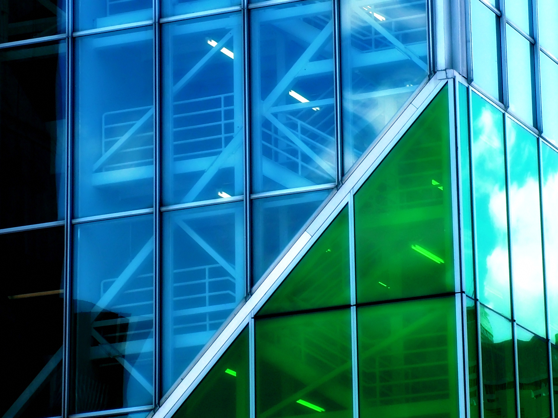 Green Glass Building